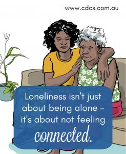 Loneliness isn't just about being alone - it's about not feeling connected.