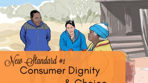 standard 1 - dignity & choice