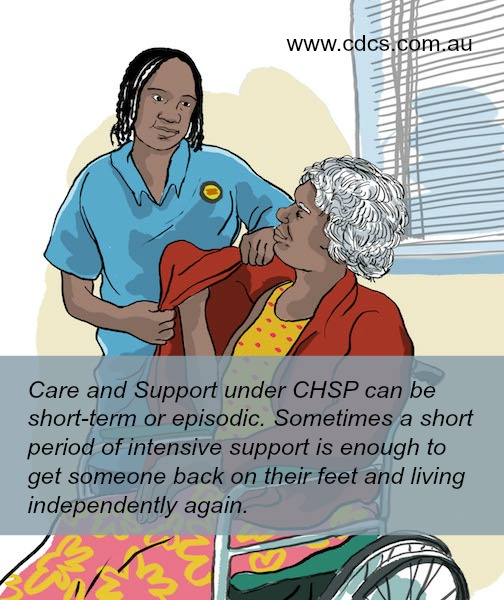 Wellness Report for the Commonwealth Home Support Programme