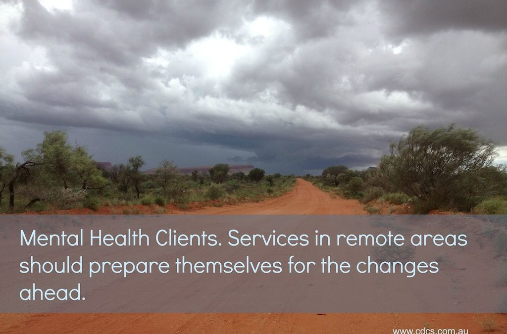 The Unfunded Client Group – mental health clients in remote areas