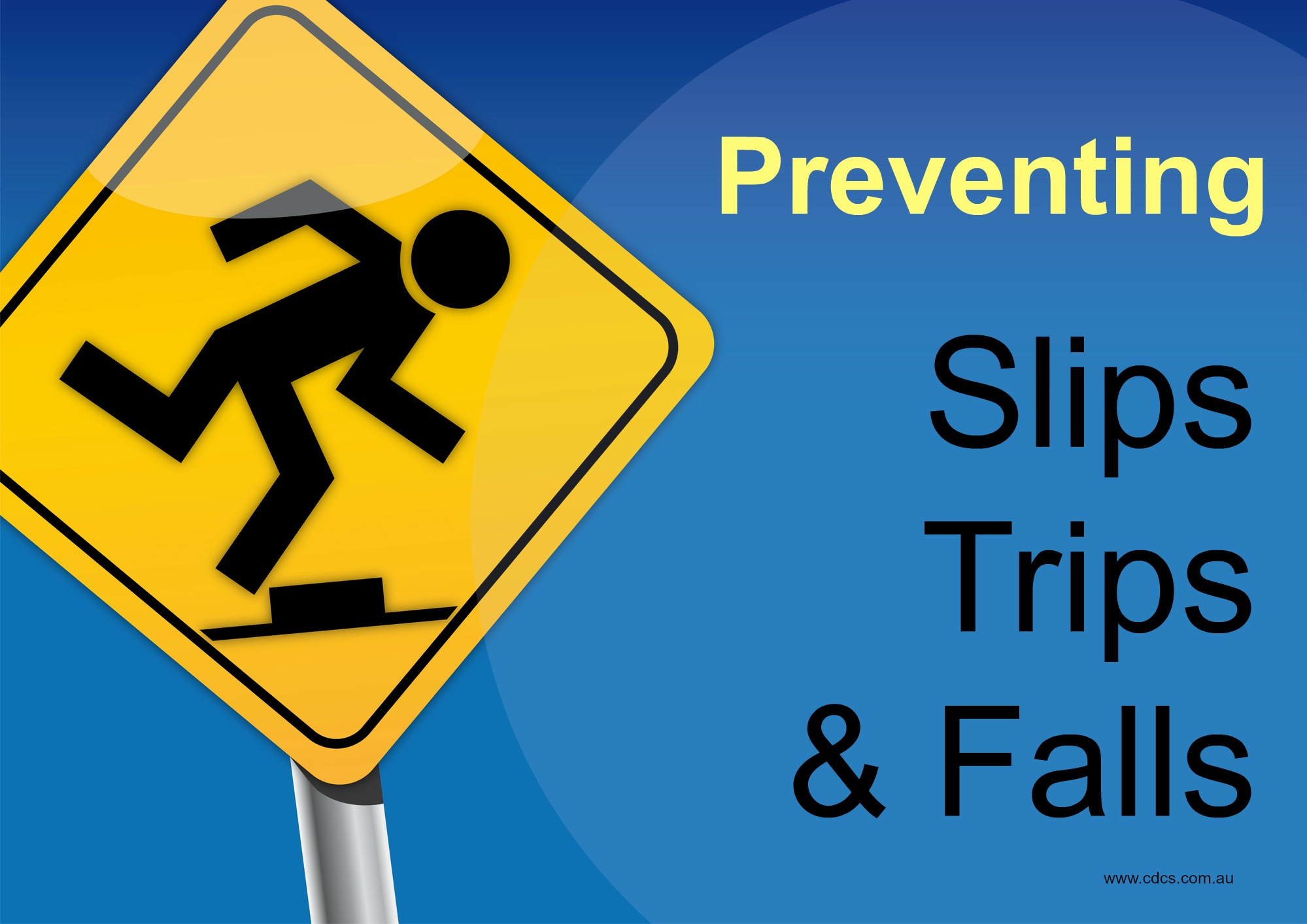 Preventing slips, trips and falls in older people can be as simple as making a few changes to the home environment.