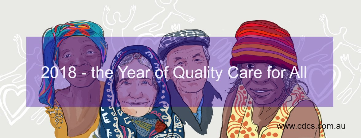 Quality Care is interpreted differently by each individual, this year, let's respond to that individual's definition and provide the best care possible for them.