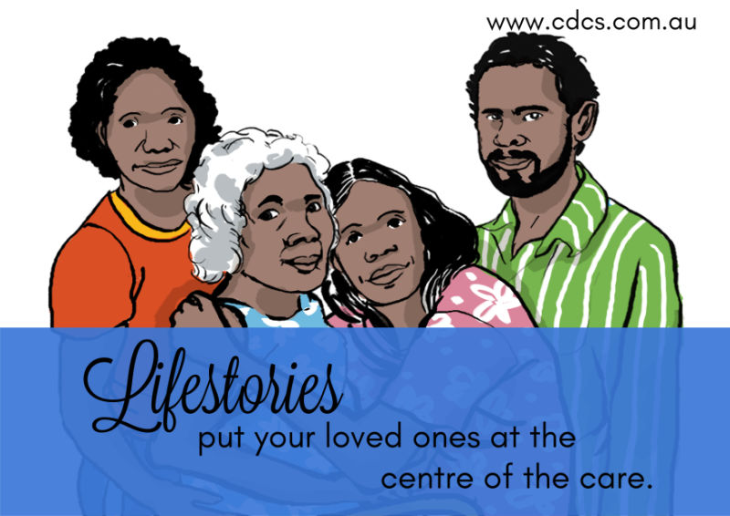Lifestories put your loved ones at the centre of the care.