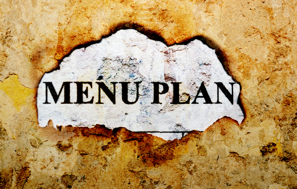 Tips on Creating a Menu Plan