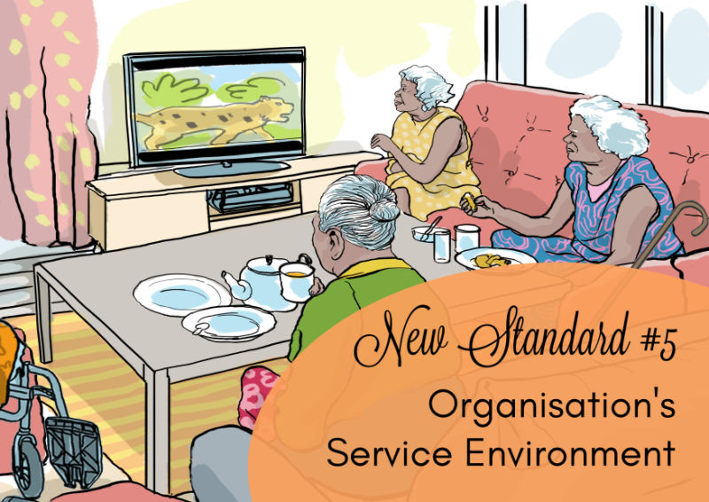 'Wouldn't It Be Loverly?' – Organisation's Service Environment | New Aged Care Standard #5