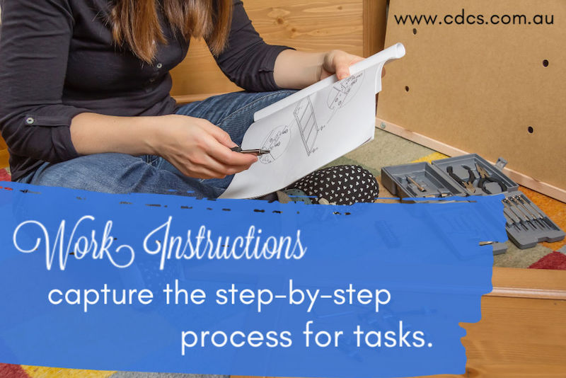Work Instructions – Do it like Ikea